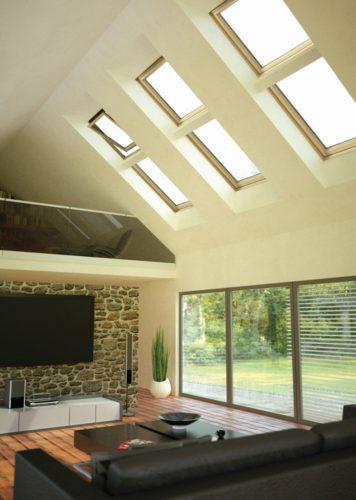 Elektrycznie sterowane okna dachowe OKPOL - model VSC2 E3